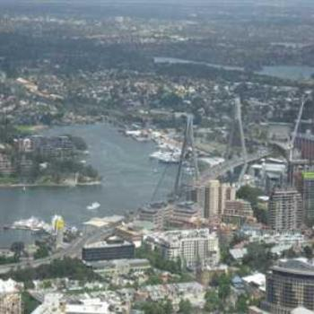 View to the North of the Sydney Tower (Sydney '09/LankyYank)