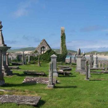 Near Durness NW Scotland Home to many of my ancestors. Here's to us and all like us. Darn few and they're all dead!!