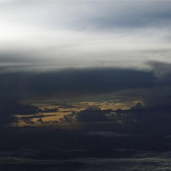 Eerie light over the Pacific, July 2010 - Bev,AB