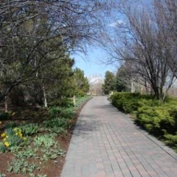 Thanksgiving Gardens pathway to spring April 2010 by Wilodene from Utah