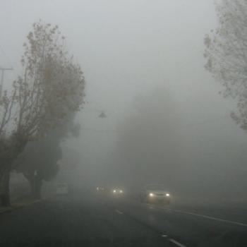Thick fog in Toowoomba (Deb from Brisbane)