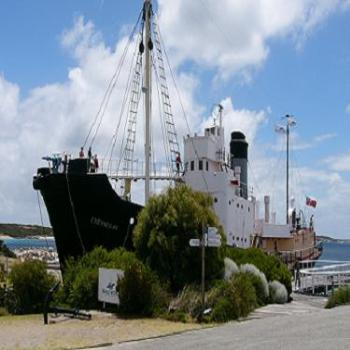 Old Whale Chaser at Whale World, Frenchman Bay, Albany West. Australia. Albany was the last whaling station to operate in Albany.