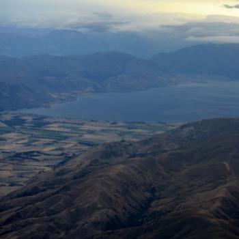 4029 maybe Lake Pukaki, flying from Chrsitchurch to Queenstown, Sth Is, NZ Kate/Sydney