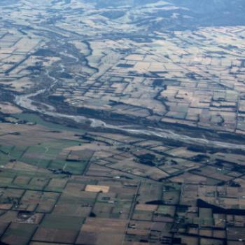 4021 Waimakariri River, flying from Chrsitchurch to Queenstown, Sth Is, NZ Kate/Sydney