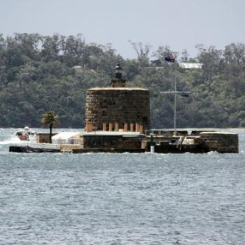 2224 Fort Denison one of the last Martello Towers to be built, Sydney Botanic Gardens, Oct'09, Kate/Sydney