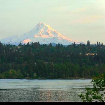 Mt. Hood from Columbia River