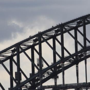 2497 climbers on the Bridge from Fort Denison, Sydney Harbour, Island Hopping adventure, 11th Oct'09, Kate/Sydney