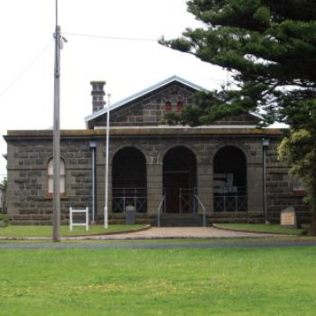 7261 Historic Courthouse, buit1859-1860, Port Fairy, GORd, Vic, 28th Oct'09 Kate/Sydney