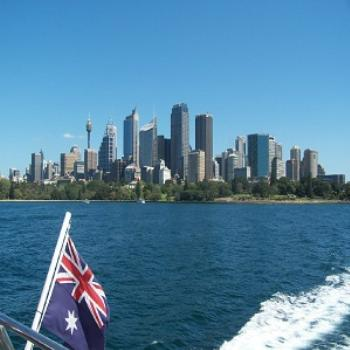 Sydney from its beautiful harbour