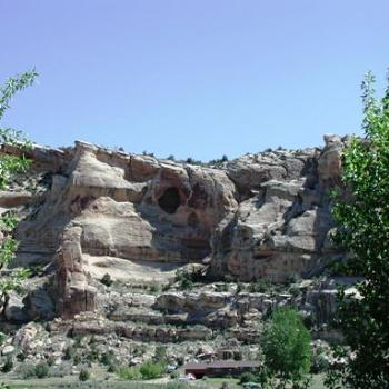 How would you like to have this cliff in Dry Fork Canyon, Utah, for your backyard?