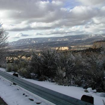 Another winter view from Dinosaur National Park, Utah