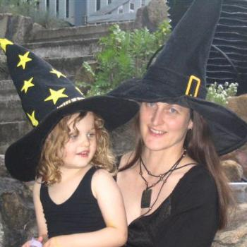Two Witches for Halloween 2005