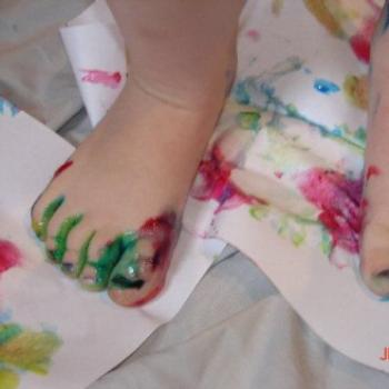 Toe painting/ Jeannea/MT