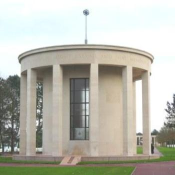 Chapel at American Cemetary Normandy France