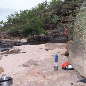 Kakadu - full of hidden treasures. How do you like our camp kitchen?