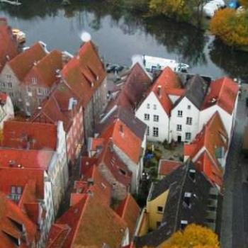 Roof top view, Lubeck Germany Sue/OK