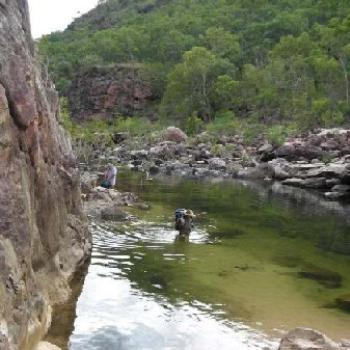 Kakadu - full of hidden treasures.... but no place for a zimmer frame up this gorge... though come to tink of it ... I could have done with one at times :) ... or a hoist.