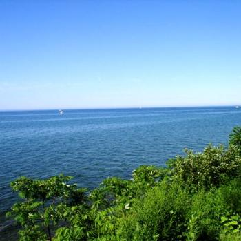 Lake Ontario from New York side