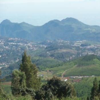 View from Dolphin nose, Coonoor.