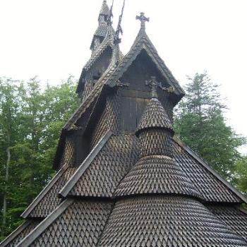 Stave Church, Bergen, Norway (June/Epping)