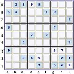 PUzzle at 27 cells solved