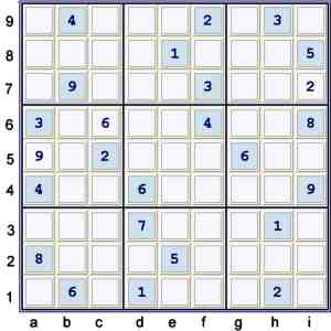 PUzzle at 25 cells solved before possibility matrix