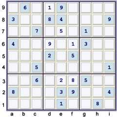PUzzle at 28 cells solved