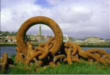 Rusted Chains - Greenock by Craig McMaster