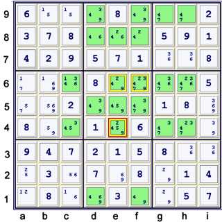 Puzzle at 40 cells solved