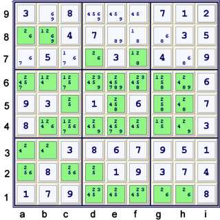 Puzzle at 38 cells solved