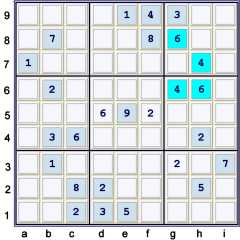 Puzzle at UP 26 see the hidden pair 46