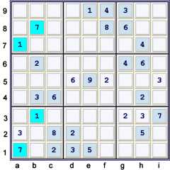 Puzzle at UP 30 see the hidden pair 17
