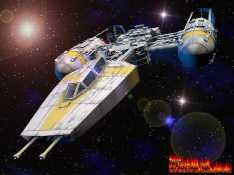 Star Wars Y wing fighter Pic