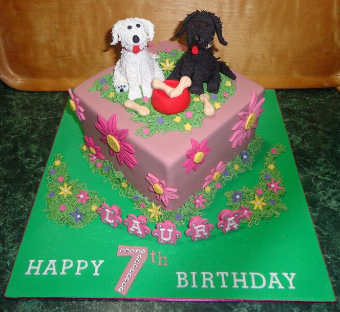 Lauras 7th Birthday Cake